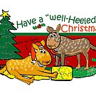 Have a Well Heeled Christmas! by Diana-Lee Saville
