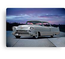 1955 Cadillac Coupe DeVille Canvas Print