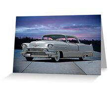 1955 Cadillac Coupe DeVille Greeting Card