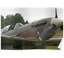 Polish Spitfire Poster