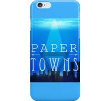 Paper Towns iPhone Case/Skin