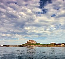 Lindisfarne Castle, Holy Island, Northumberland. UK by David Lewins