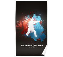 Counter Strike: Global Offensive - Play Pro, Go Pro Poster