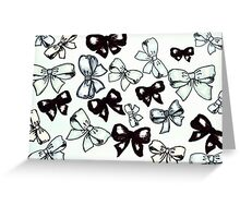 Bows 2 Greeting Card