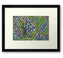 Mysterious Tango Framed Print