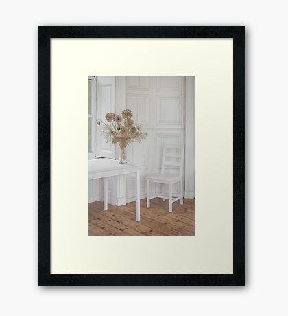 The White Room Framed Print