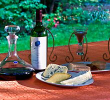 Opus One and Cheese by Sylvain Dumas