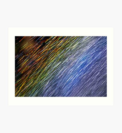 Rainbow - Up Close and Personal Art Print