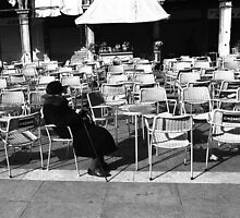 Lonely, Piazza San Marco by pmreed