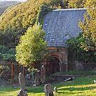 Tiny ancient family church, Monreith, Scotland by sarnia2