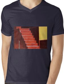 Everywhere is walking distance if you have the time.. Mens V-Neck T-Shirt
