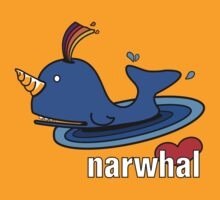 Love your Narwhal by KjunSL1