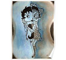 Betty Boop Los Muertos Poster