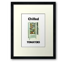 Chilled Tomatoes Framed Print