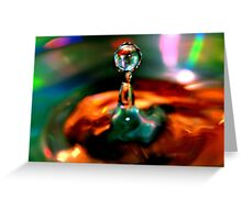 One Precious Drop Greeting Card