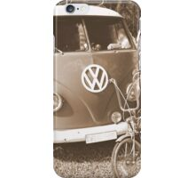 Old dragster iPhone Case/Skin