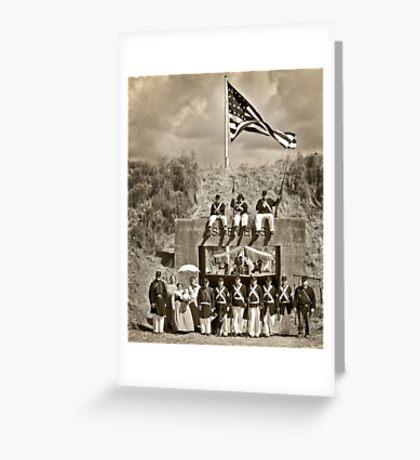 USS Tahoma Marines Greeting Card
