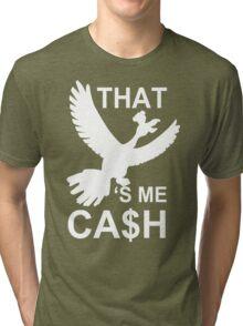Ho Oh Cash Funny T-Shirt & Hoodies Tri-blend T-Shirt