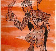 Orange Devil by TiaVamp