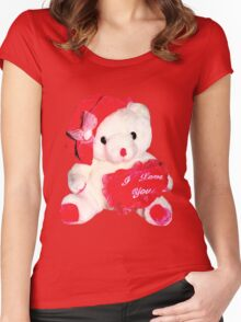 Taddy Bear Women's Fitted Scoop T-Shirt