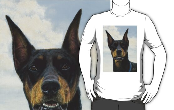 Doberman Pinscher  by John Silver