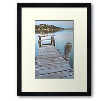 Georges River Reflections Framed Print
