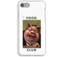 The Food Club iPhone Case/Skin