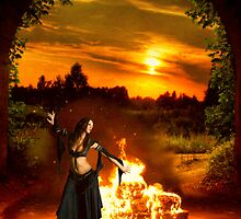 Gypsy siren fire song by Christie  Moses