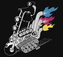 Grim Hellraiser Rides Again by heikowindisch