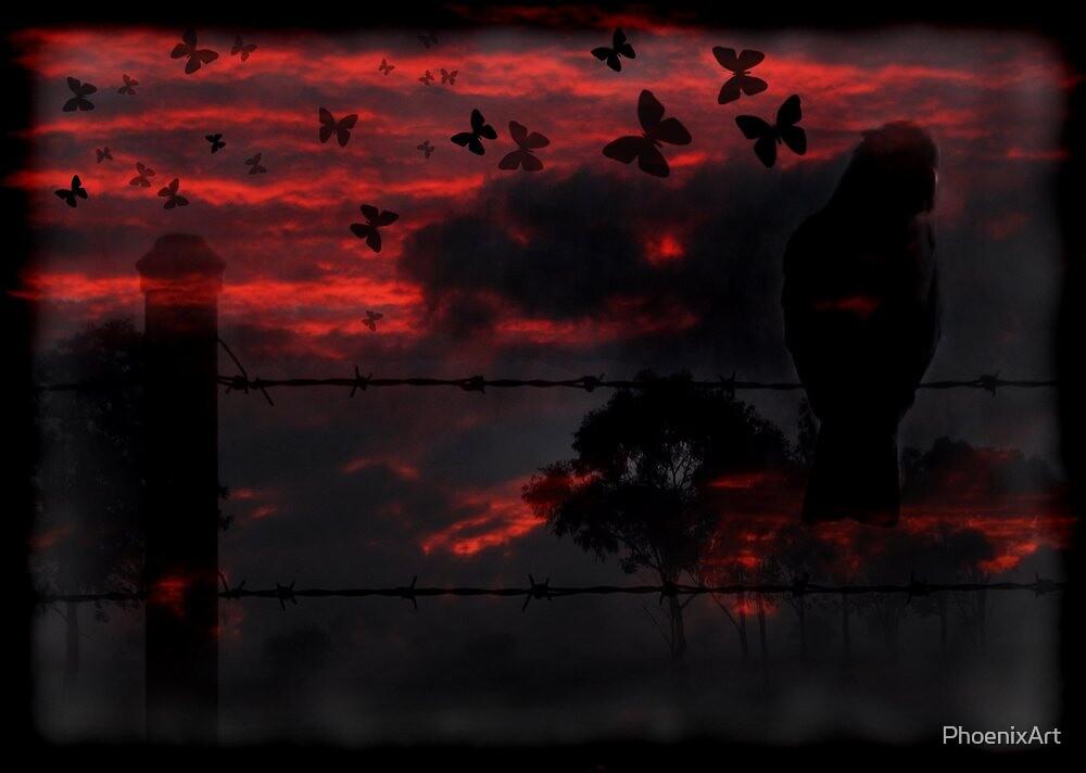 Goodbye Blue Sky by PhoenixArt