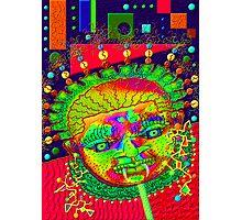 'Art Deco Boogie Woman', Mask #2 Photographic Print