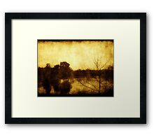 As Color Fades ©  Framed Print