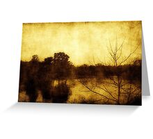 As Color Fades ©  Greeting Card