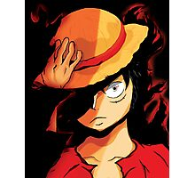 Luffy is pissed Photographic Print