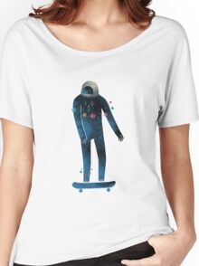 Skate/Space Women's Relaxed Fit T-Shirt