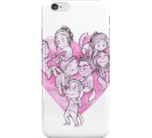 Heart Pile iPhone Case/Skin