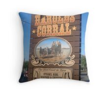 Harold's Throw Pillow