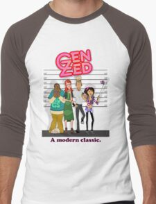 Genusual Suspects Men's Baseball ¾ T-Shirt