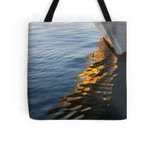 Reflecting on Yachts and Sunsets Tote Bag