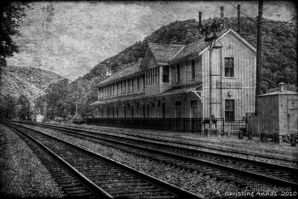 Waiting on the Ghost Train by Christine Annas