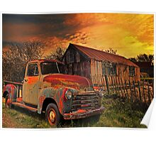 Pickup truck  Poster