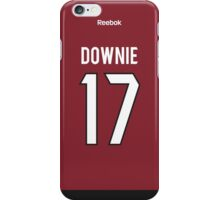 Arizona Coyotes Steve Downie Jersey Back Phone Case iPhone Case/Skin