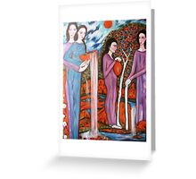 """The Four Seasons"" Greeting Card"
