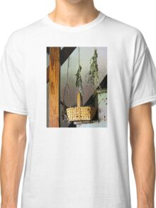 Basket and Drying Herbs Classic T-Shirt