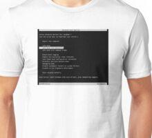 safe mode  Unisex T-Shirt