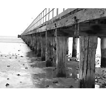Beside the Silver Jetty Photographic Print