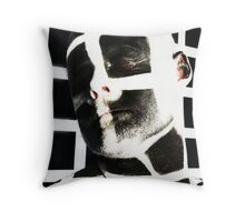 'An elegant incognito' - from a quote by Ralph Waldo Emerson Throw Pillow