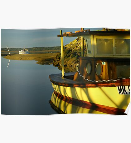 old fishing boats. gippsland coast - victoria Poster