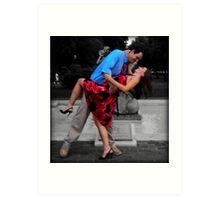 Love's A Dance  Art Print