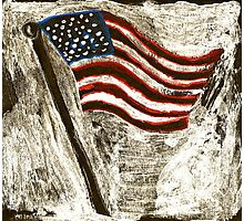 the American Flag Photographic Print